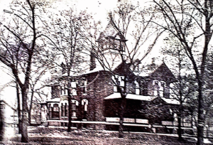 Until the construction of the Bethany United Church of Christ in 1930 the grandest house in Old Ravenswood was the Bennett Mansion. The Bennett Mansion stood on the current site of the church. The structure was torn down to create the current church. Credit: Ravenswood Lake View Historical Association