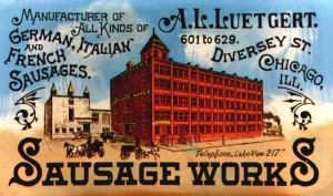 The Luetgart Sausage Works.