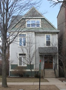 4646 N Hermitage, the former home Carl Sandburg.