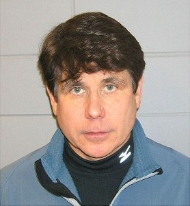 The mug shot of former Illinois Governor Rod Blagojevich. Credit: Wikipedia