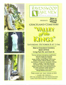 Cemetery Tour October 8, 2016, 1 PM