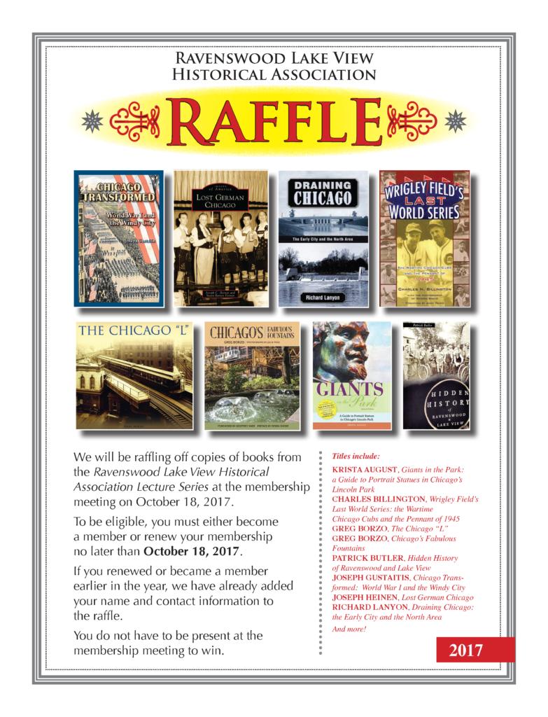 Raffle - October 18